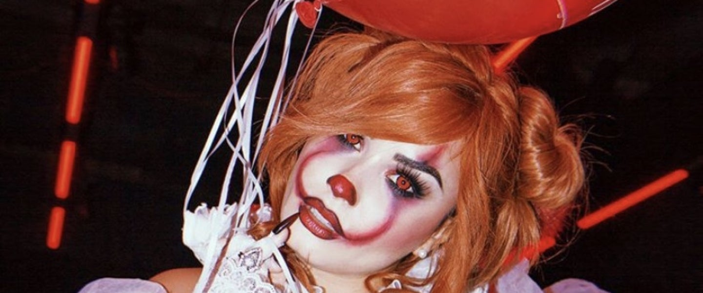 Demi Lovato as pennywise - halloween 2019