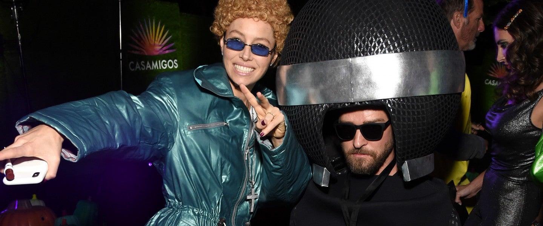 Jessica Biel Justin Timberlake Casamigos Halloween Party