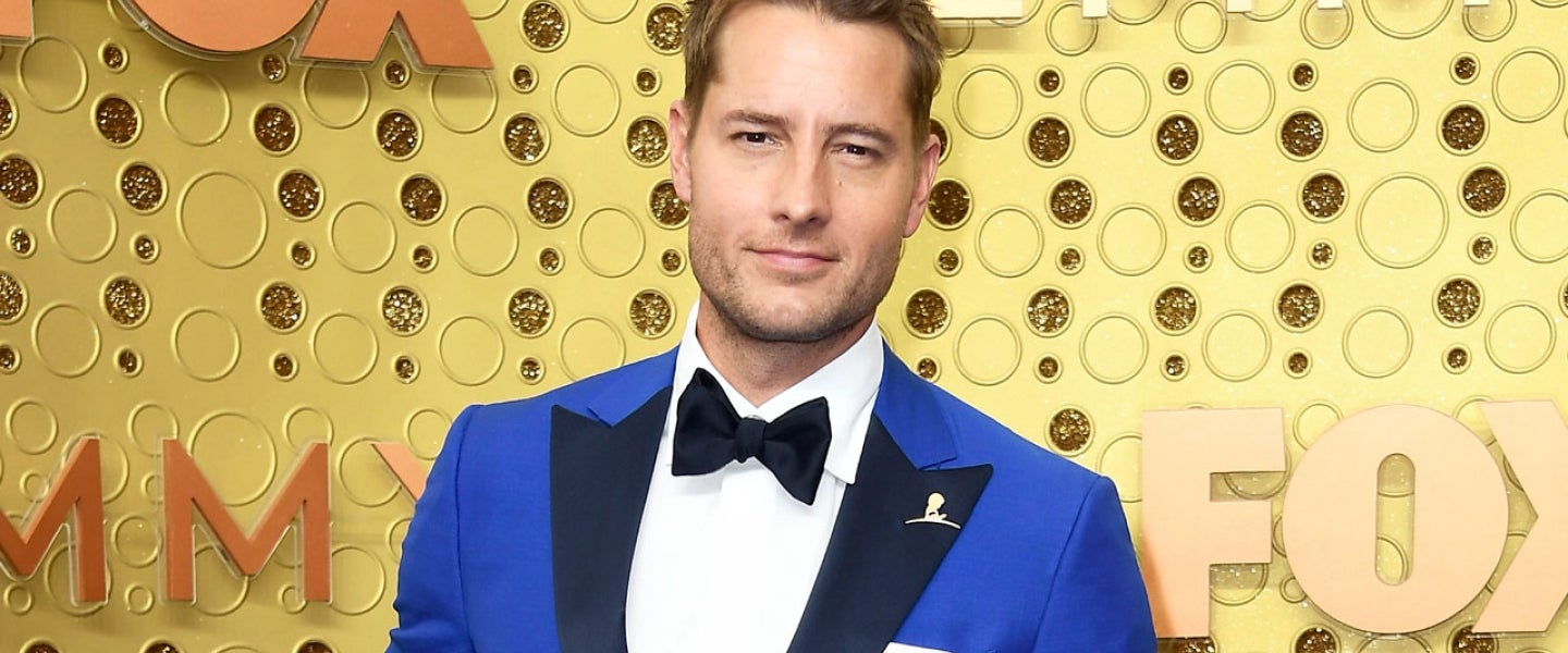 Justin Hartley at the 71st Emmy Awards