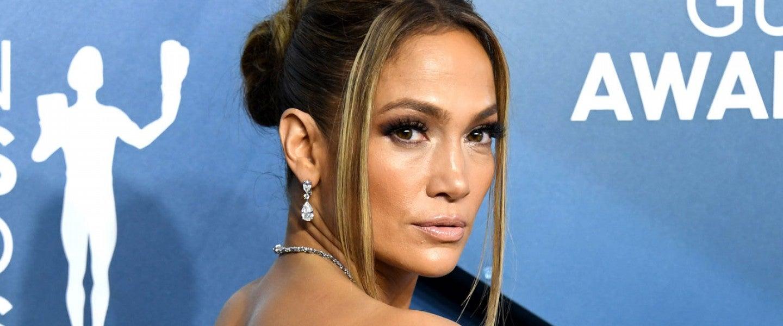 Jennifer Lopez at 2020 sag awards