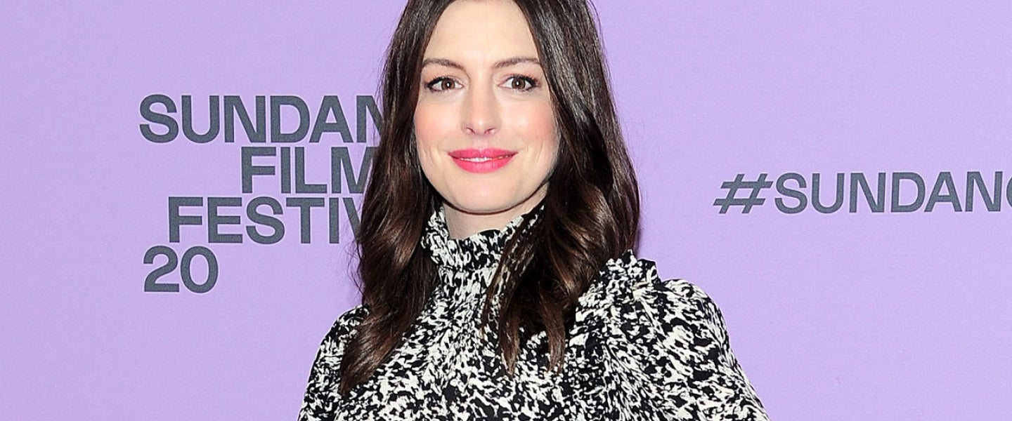 Anne Hathaway at The Last Thing He Wanted Premiere