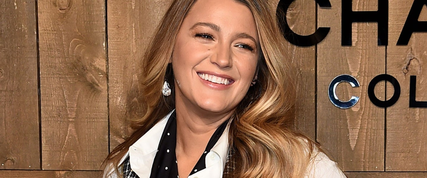 Blake Lively at the Michael Kors FW20 Runway Show