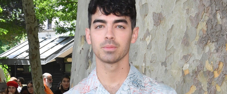 Joe Jonas at the Berluti Menswear Spring Summer 2020 show