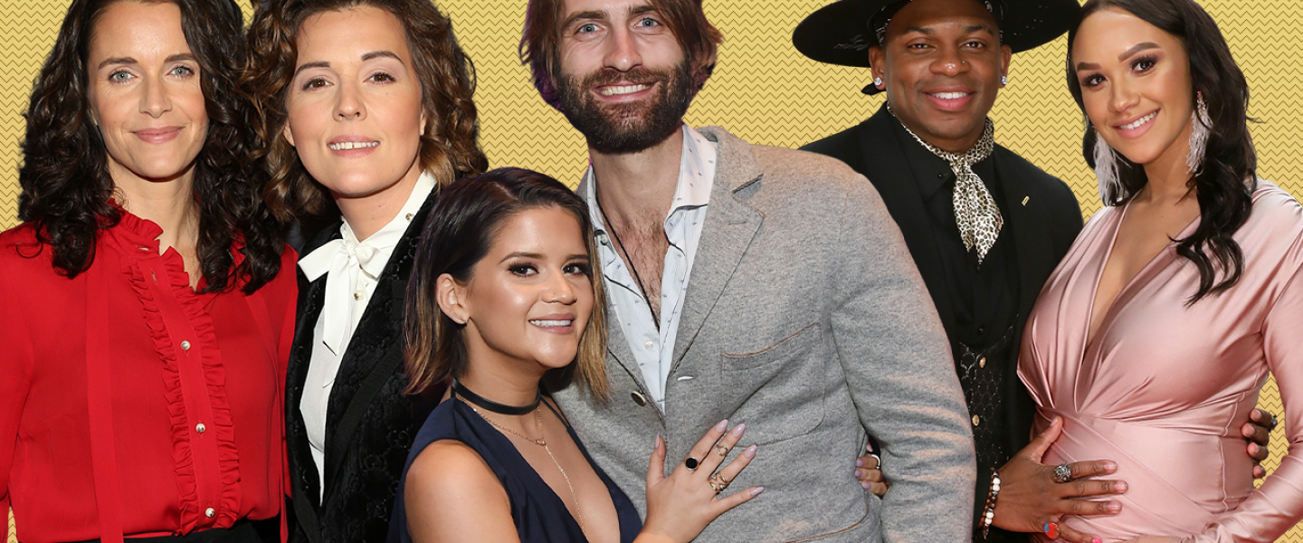 Country Music Couples on the Red Carpet