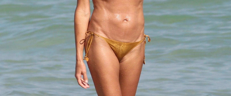 Bikini laura spencer GMA's Lara