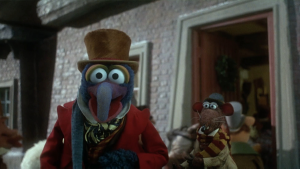 the muppet christmas carol turns 25 kermit and gonzo on working with michael caine flashback - Muppets Christmas Carol Youtube