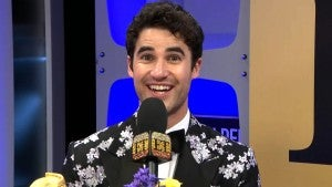 Darren Criss Shares What Made Him Cry on the Way to the Golden Globes (Exclusive)