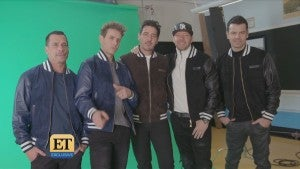Go Behind the Scenes of New Kids on the Block's 'Boys In the Band' Music Video (Exclusive)