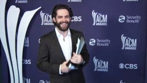 ACMs 2021: Thomas Rhett Shares What His Wife and Daughters Thought About His Win (Exclusive)