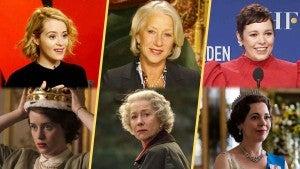 Helen Mirren, Claire Foy and Olivia Colman Talk Playing Queen Elizabeth II (Flashback)