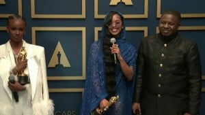 Oscars 2021: H.E.R. (Original Song) Backstage Interview