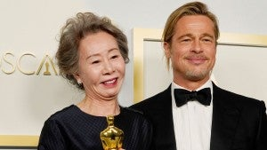 Brad Pitt Had the Best Supporting Actress Nominees Blushing at 2021 Oscars