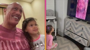 Dwayne Johnson's Daughter Tia Reacts to Adorable Surprise From 'Aquaman's Jason Momoa
