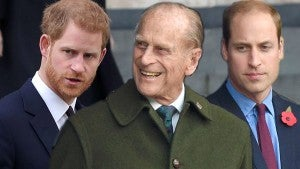 Prince Harry and Prince William Will Not Stand Next to Each Other During Prince Philip's Funeral