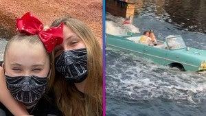 JoJo Siwa Cuddles Up to Girlfriend Kylie Prew at Disney World