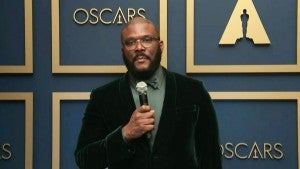 Oscars 2021: Tyler Perry (Jean Hersholt Humanitarian Award) Backstage Interview