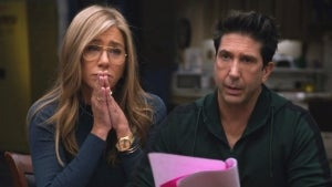'Friends' Reunion: Jennifer Aniston and David Schwimmer Admit Real Life Crushes on Each Other