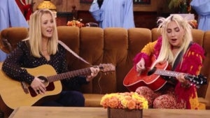 'Friends' Reunion: Watch Lady Gaga Perform 'Smelly Cat' With Lisa Kudrow and More Celeb Cameos!