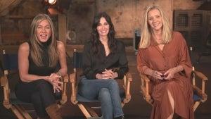 Jennifer Aniston, Courteney Cox and Lisa Kudrow Talk Emotional Return to 'Friends' Set (Exclusive)