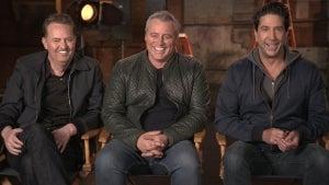 'Friends' Reunion: Matthew Perry, David Schwimmer and Matt LeBlanc on Feeling Nostalgic (Exclusive)