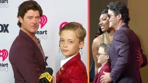 Robin Thicke's Son Julian on His 'Very Cool' Dad Getting Him a Photo With Megan Thee Stallion