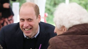 Prince William Jokes He's Trying Not to 'Flirt' With Women While Visiting Elderly Care Home