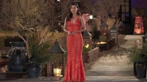 'Bachelorette' Katie Thurston Shines in Red Gown in First Look Pics (Exclusive)