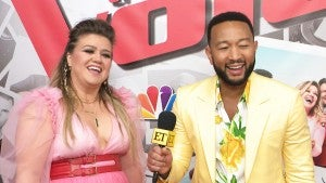 'The Voice' Coach Kelly Clarkson Spent Her Mother's Day With John Legend and His Daughter Luna