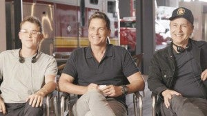 Behind the Scenes of the Rob Lowe Family Takeover on Set of '9-1-1' (Exclusive)