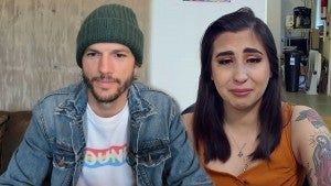 Ashton Kutcher Brings Woman to Tears With Uplifting Message -- Watch! (Exclusive)