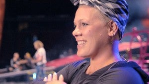 Pink Reveals the Secret of Being a Boss in 'P!NK: All I Know So Far' (Exclusive Clip)