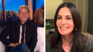 Ellen DeGeneres Explains Why She's Living at Courteney Cox's House