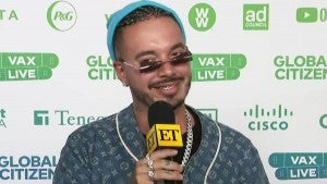 J Balvin Seemingly Confirms He's Expecting a Son, Says He Will Be 'His Best Friend' (Exclusive)