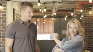 Camille Kostek Asks Boyfriend Rob Gronkowski About That Viral Lombardi Trophy Toss