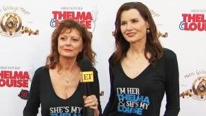 'Thelma & Louise' Stars Geena Davis and Susan Sarandon Reunite for 30th Anniversary of Their Film