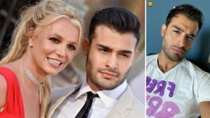Britney Spears' Boyfriend Sam Asghari Sports 'Free Britney' Shirt Ahead of Conservatorship Hearing