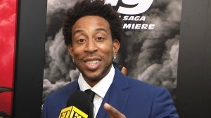 Ludacris Shows Off Sweet Tribute to Daughters at 'F9' Premiere (Exclusive)