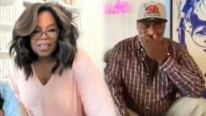 Oprah Surprises Viral Painter Richard Hutchins to Purchase His Art (Exclusive)