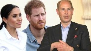 Prince Edward Reacts to 'Very Sad' Royal Family Rift