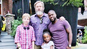 Kevin Hart Opens Up About 'Fatherhood' To Matt Logelin, Who He Portrays in the Movie (EXCLUSIVE)