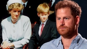 Prince Harry Arrives in the U.K. Ahead of Princess Diana Statue Unveiling at Kensington Palace