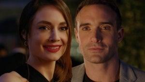 Mallory Jansen and Josh Sasse Spark Up a Romance in Hallmark's 'Her Pen Pal' Sneak Peek (Exclusive)