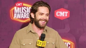 2021 CMT Music Awards: Thomas Rhett Says Becoming a Father of Four Is 'Overwhelming' (Exclusive)