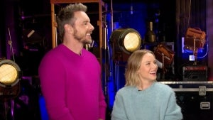 Dax Shepard and Kristen Bell on Facing Off for 'Family Game Fight' and Her Return to 'Gossip Girl'