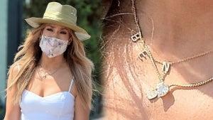 Jennifer Lopez Wears a 'BEN' Necklace After Yacht PDA With Ben Affleck