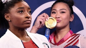 Suni Lee Wins Olympic Gold as Simone Biles Cheers From the Stands