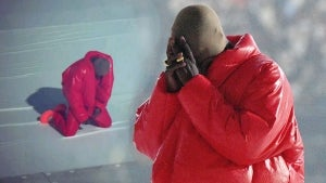 Kanye West Cries Over 'Losing My Family' at Album Release Party Attended by Kim Kardashian