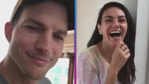 Mila Kunis Hilariously Reacts to Husband Ashton Kutcher's Pop Culture Pop Quiz