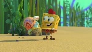 SpongeBob and Gary Bond at Sleepaway Camp in 'Kamp Koral: SpongeBob's Under Years' Sneak Peek (Exclusive)