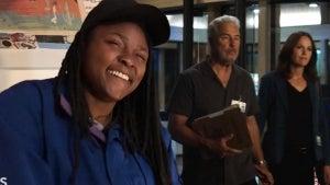 'CSI: Vegas': Behind the Scenes of Singer Joy Oladokun's Theme Recording Session (Exclusive)